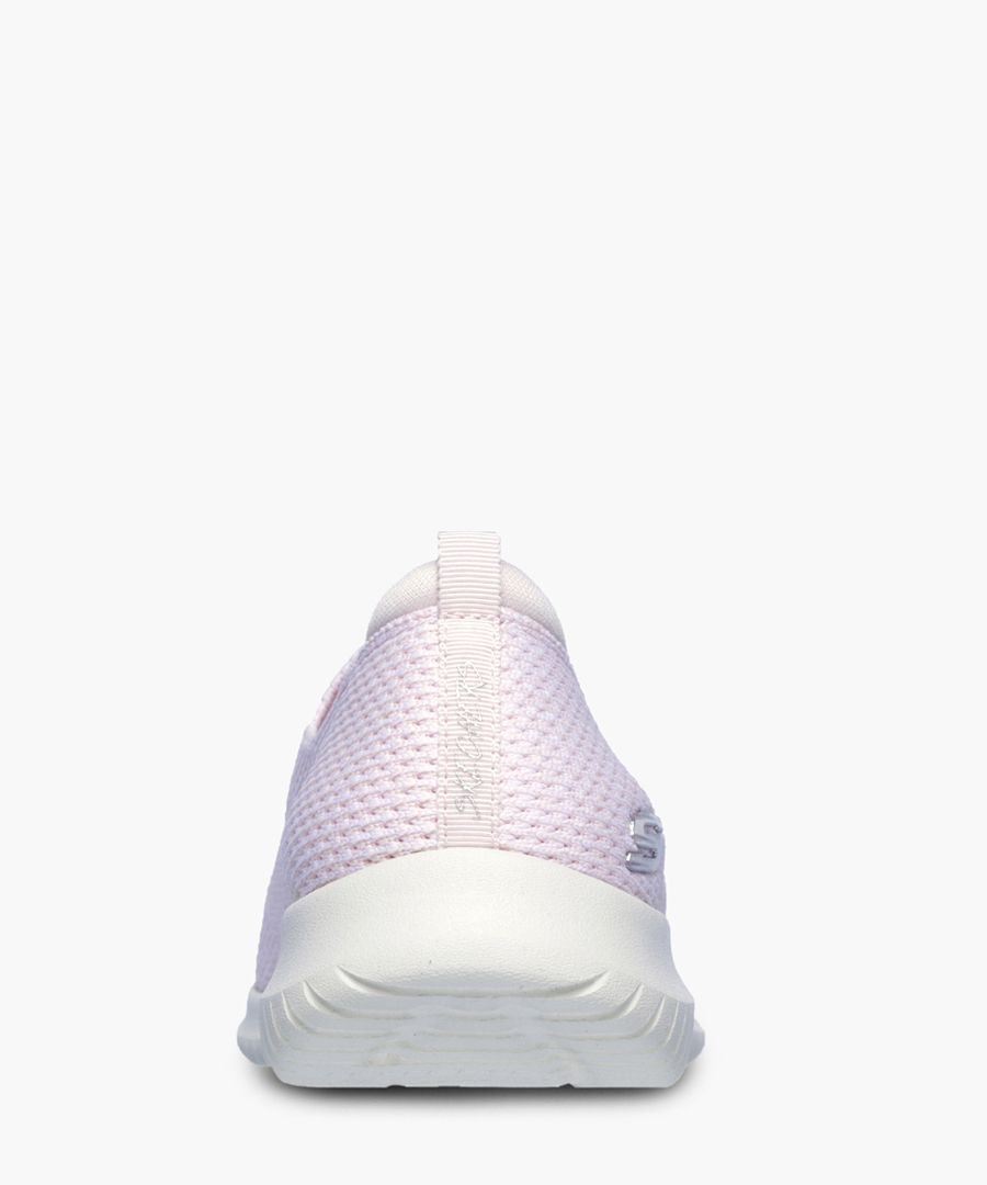 Ultra Flex pink memory foam trainers