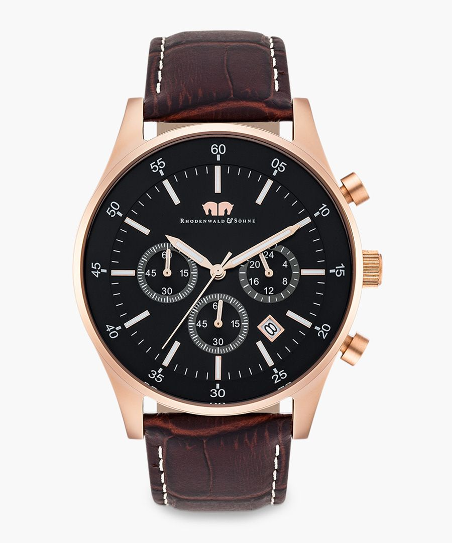 Goodwill Chronograph brown watch