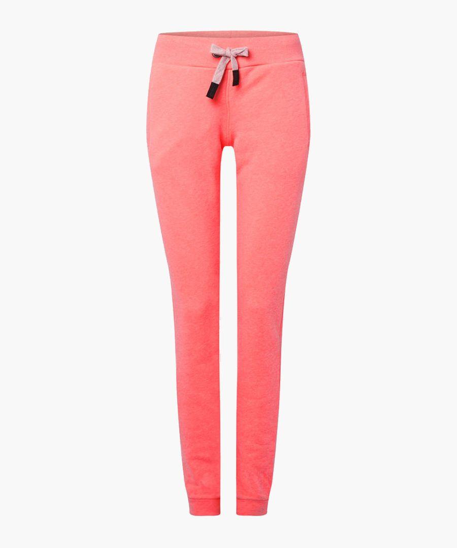 Scruz coral pink joggers