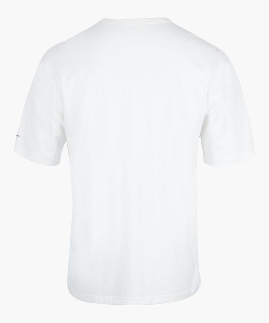 Optic white graphic printed T-shirt