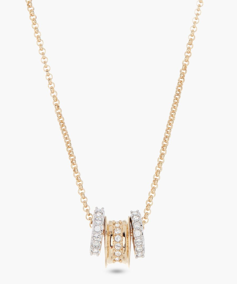 Corah gold-plated necklace