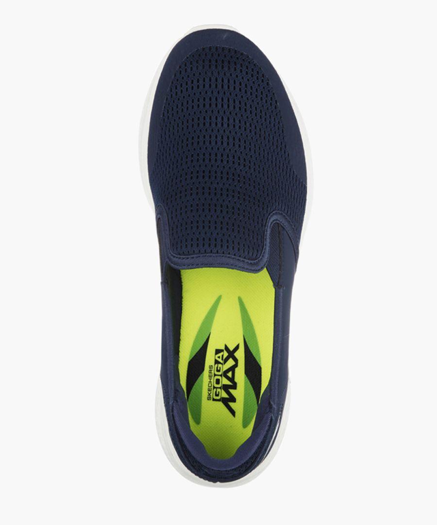 Go Walk 4 navy trainers
