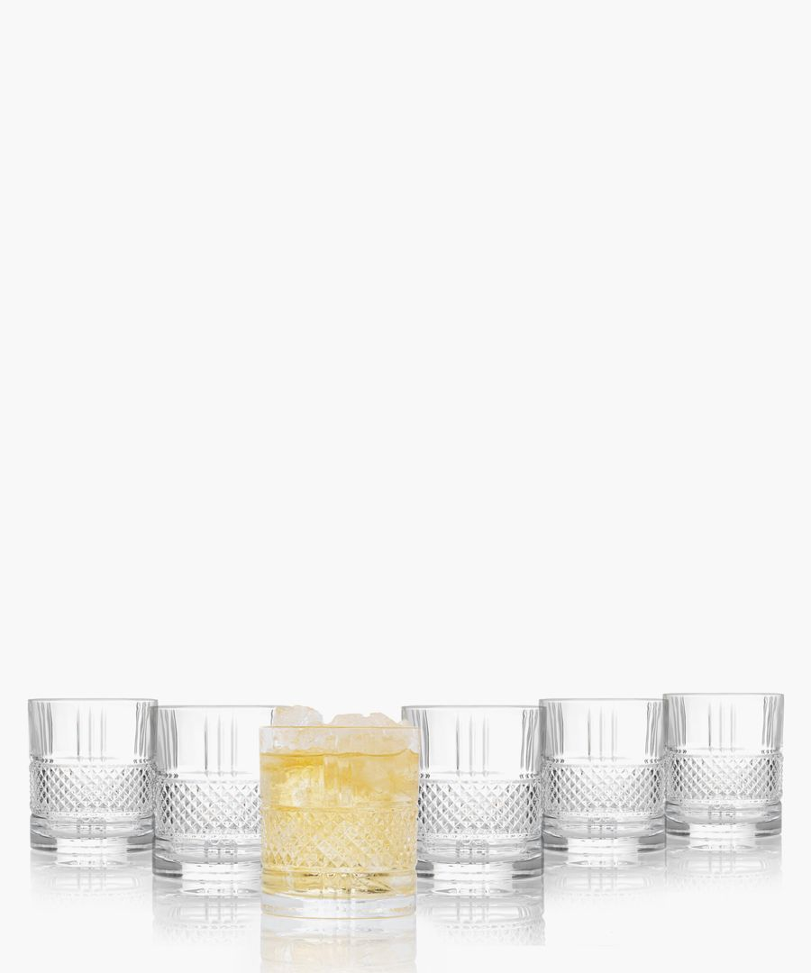 6pc Brillante tumblers 337ml