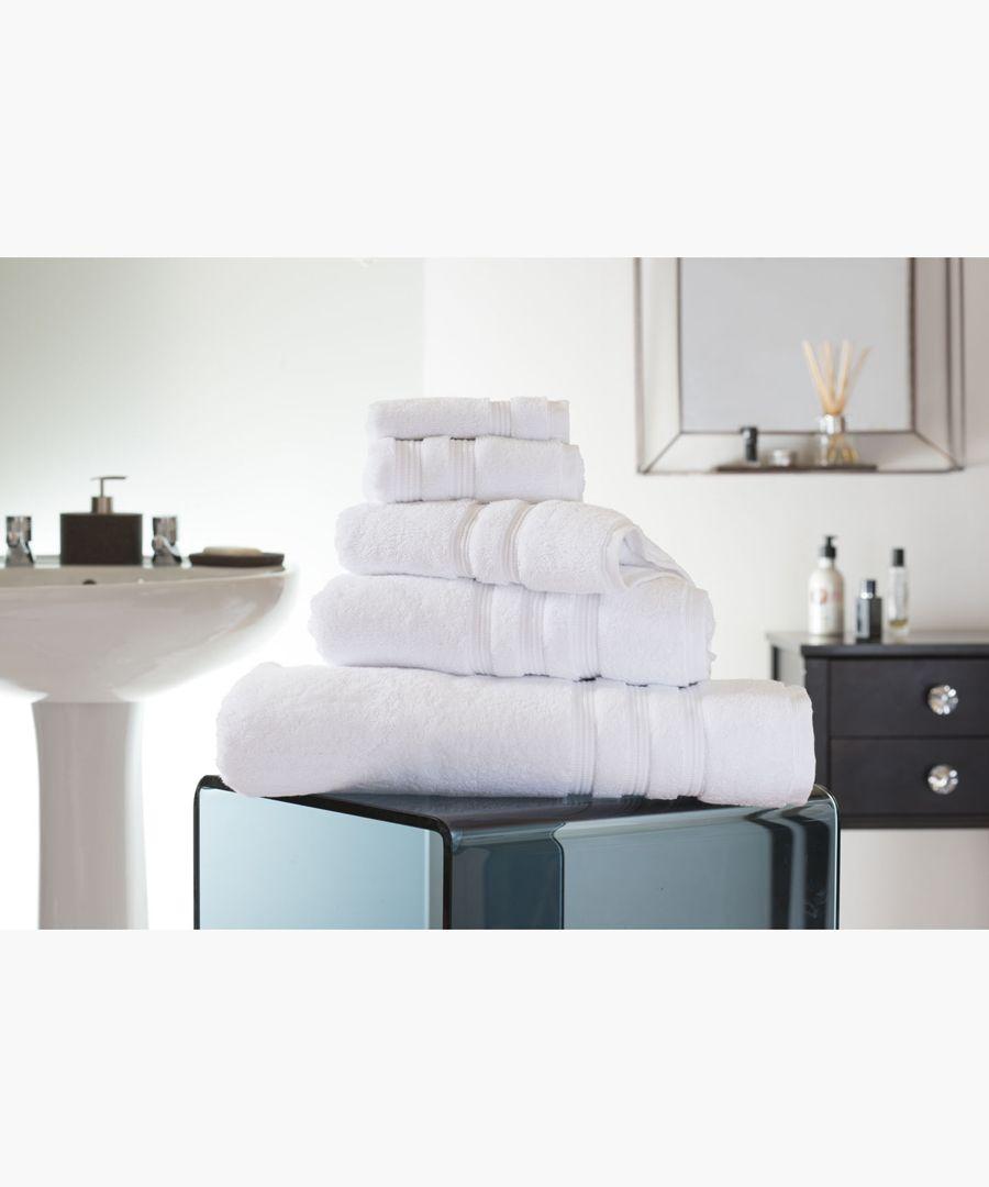 White Turkish pima cotton bath towel