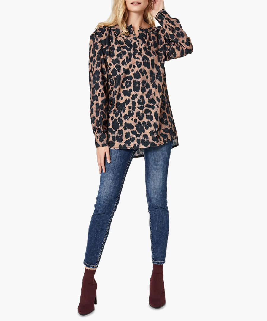 Print pantera woven shirt