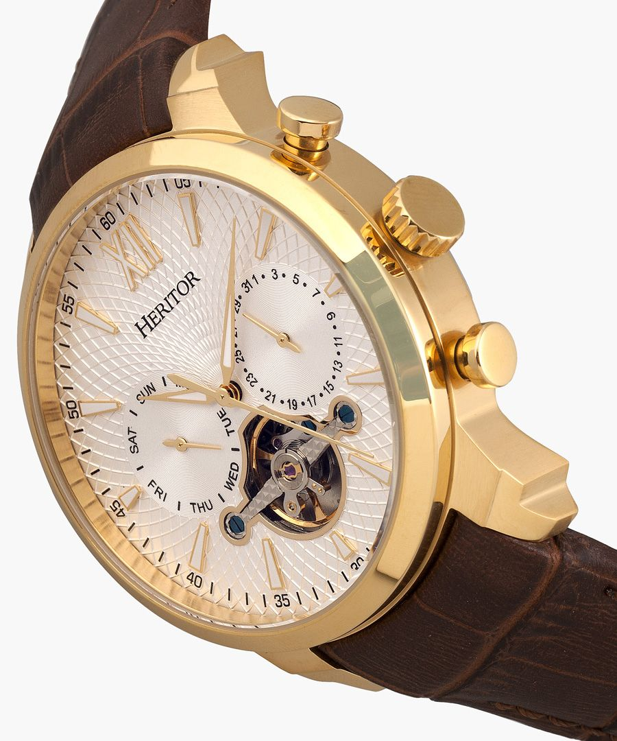 Heritor Automatic Arthur brown watch