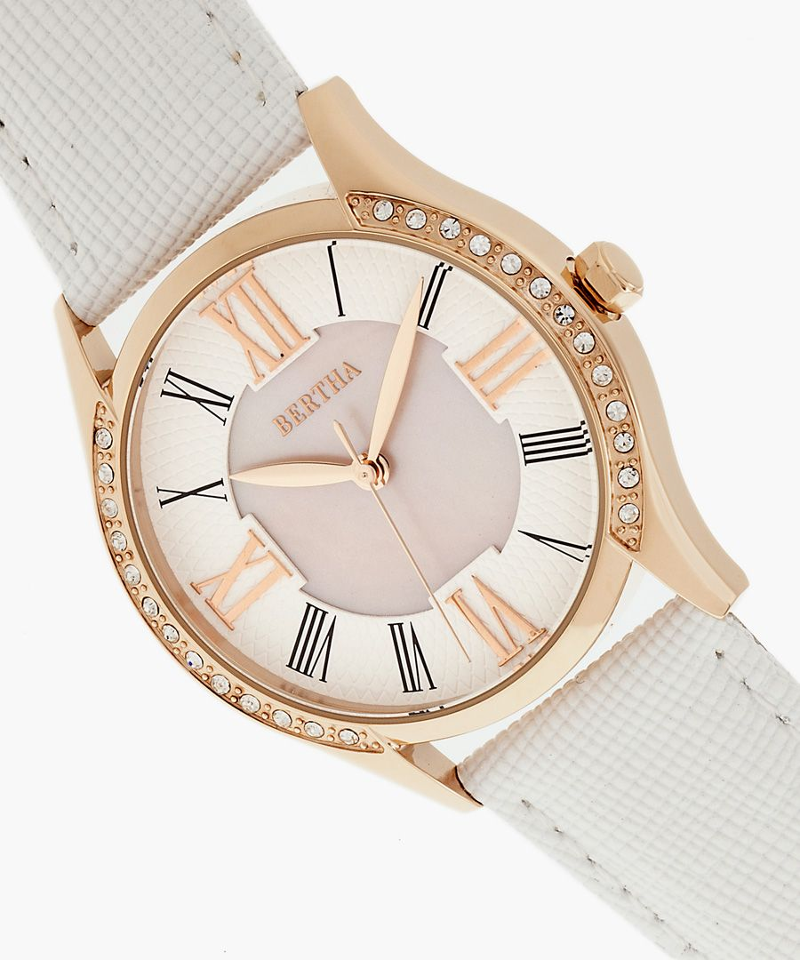Sadie white watch