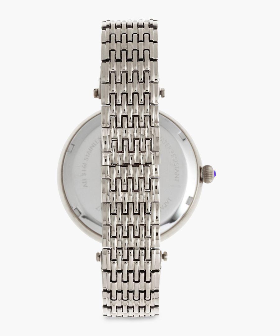 Micah silver-tone watch