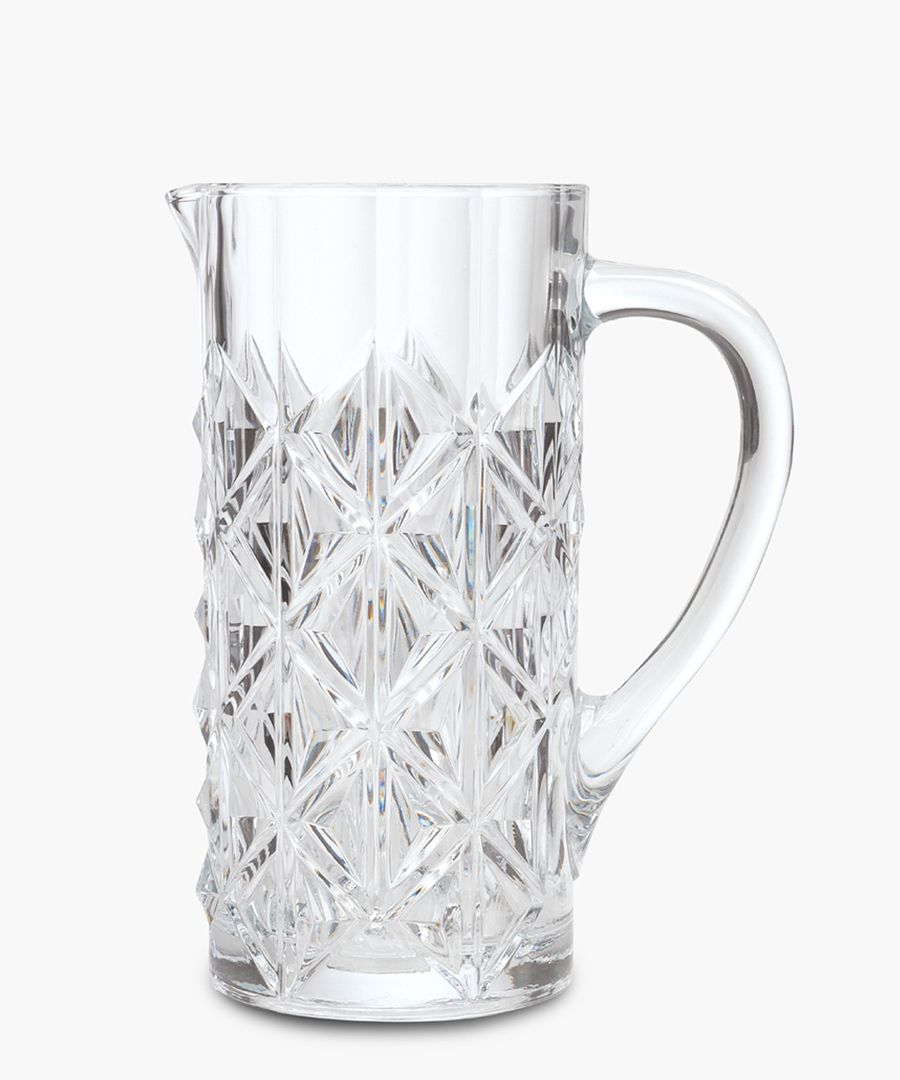 Enigma Luxion Crystal glass water juice and cocktail Jug 1.2L