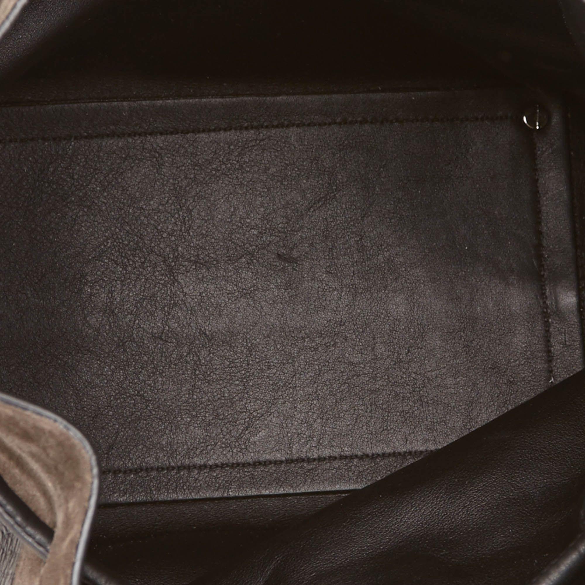 Proenza Schouler Leather Shoulder Bag Black