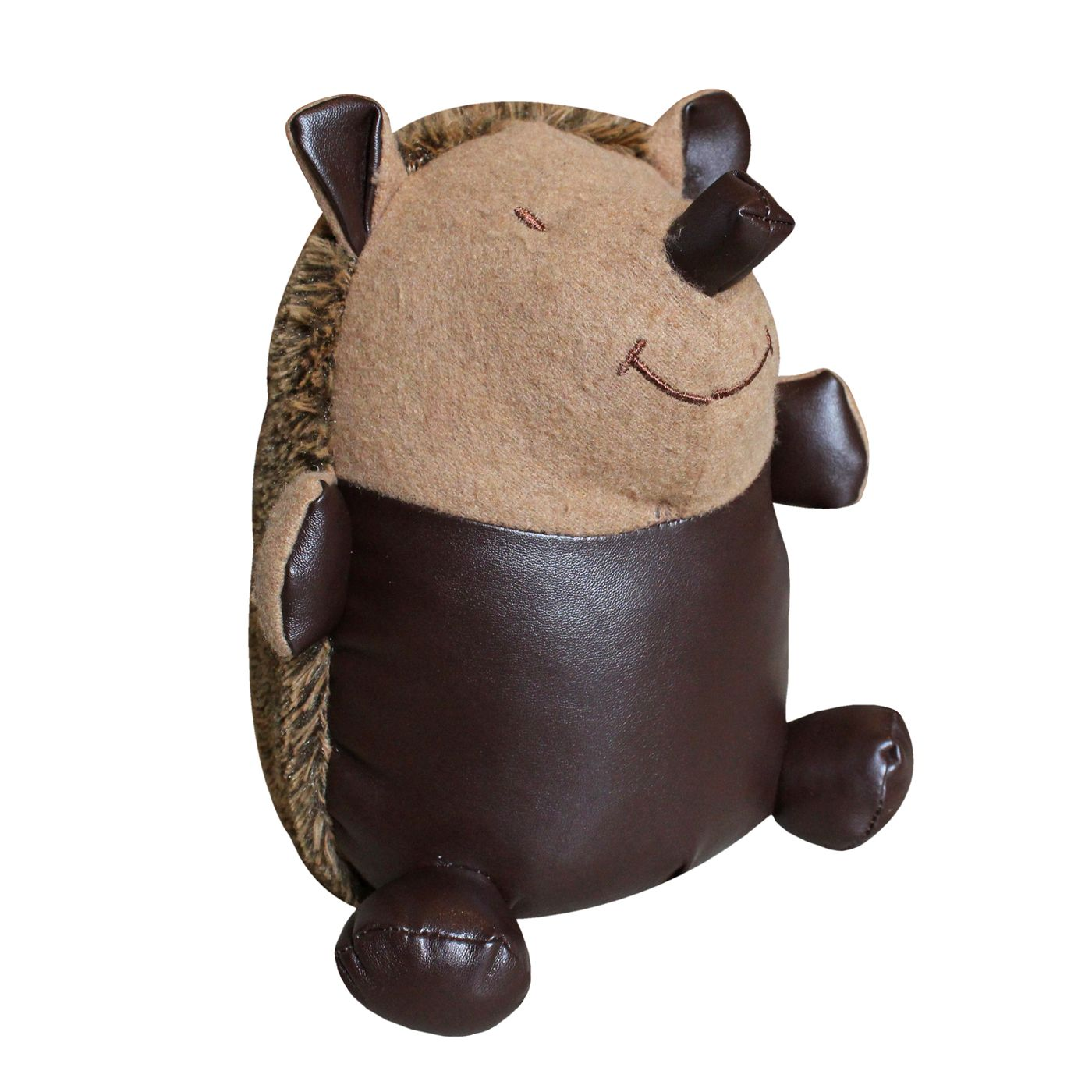 Hedgehog Doorstop, Brown