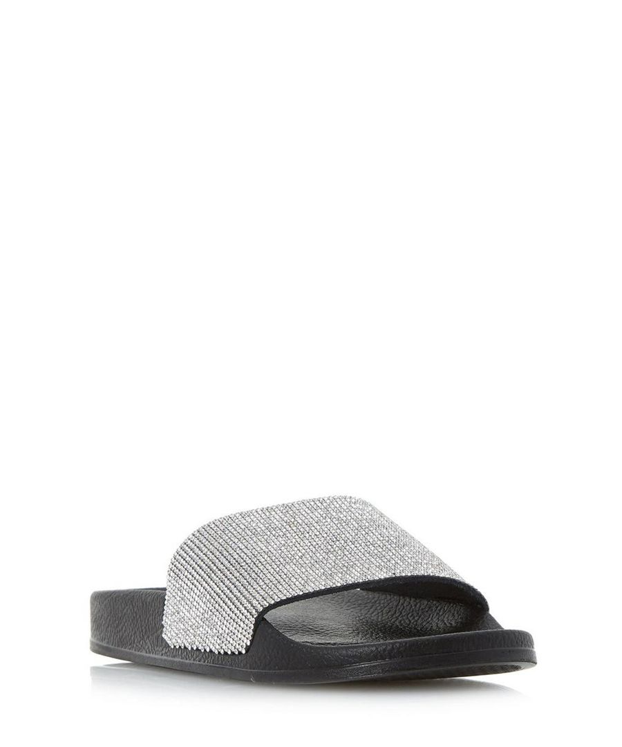 Las Vegas black casual slip-on flats