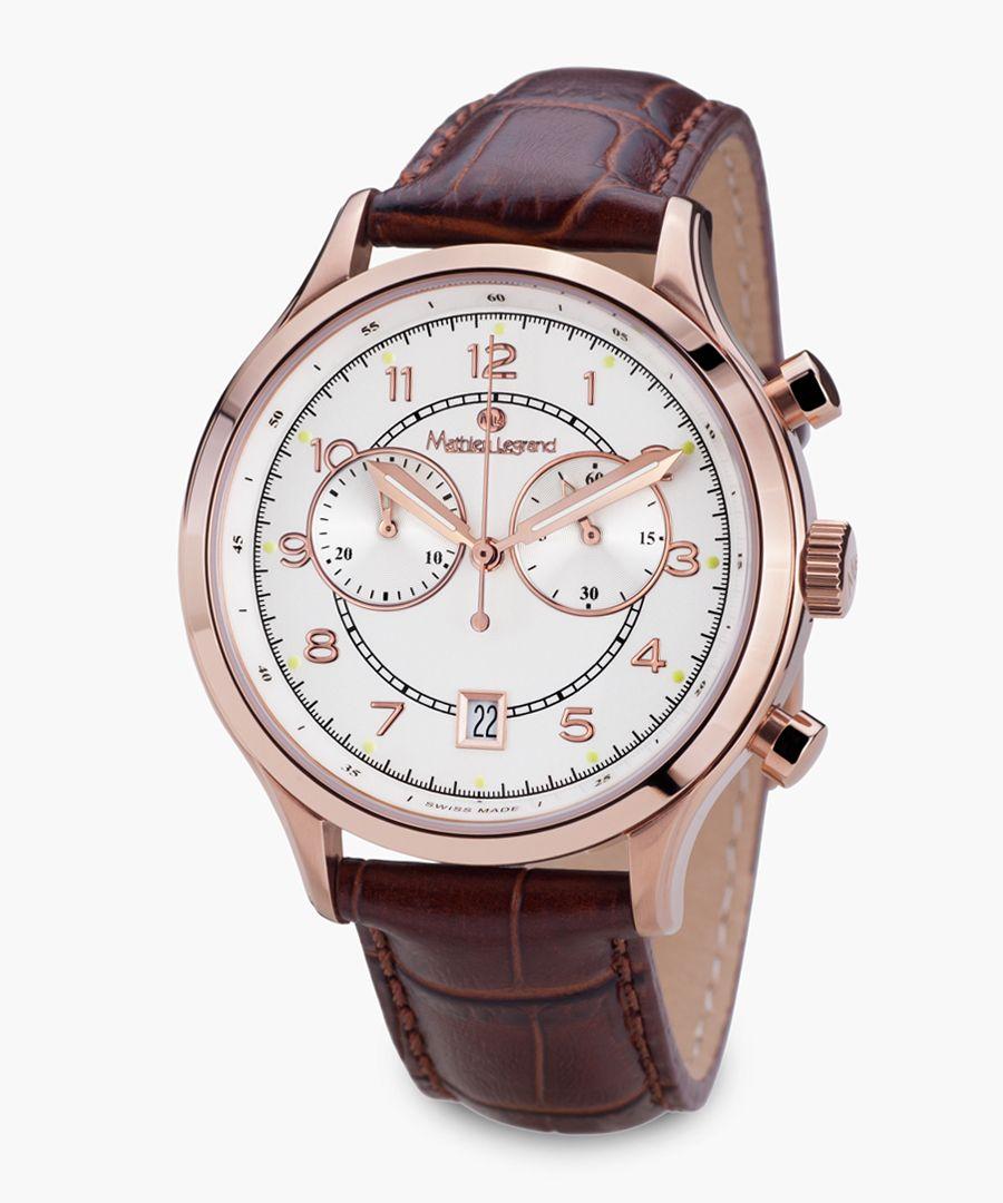 Orbite Polaire brown watch
