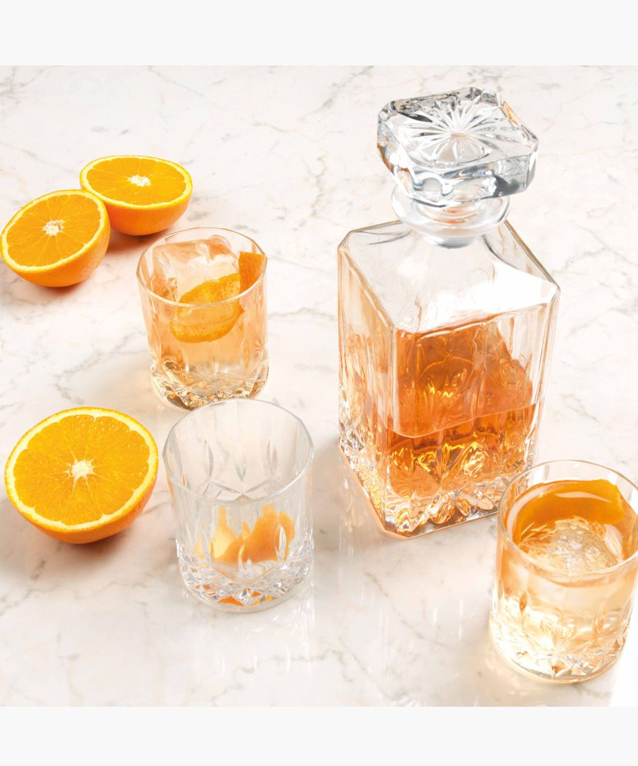 OperaLuxion Crystal wine Square decanter