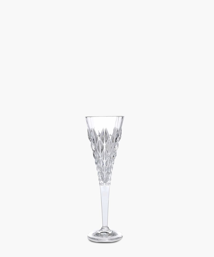Enigma Luxion Crystal glass champagne flute 210ml