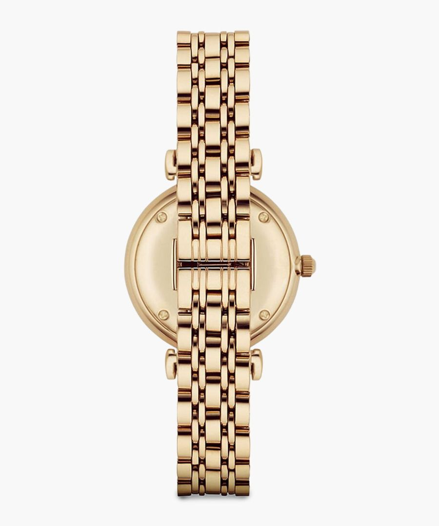 Gold-tone watch
