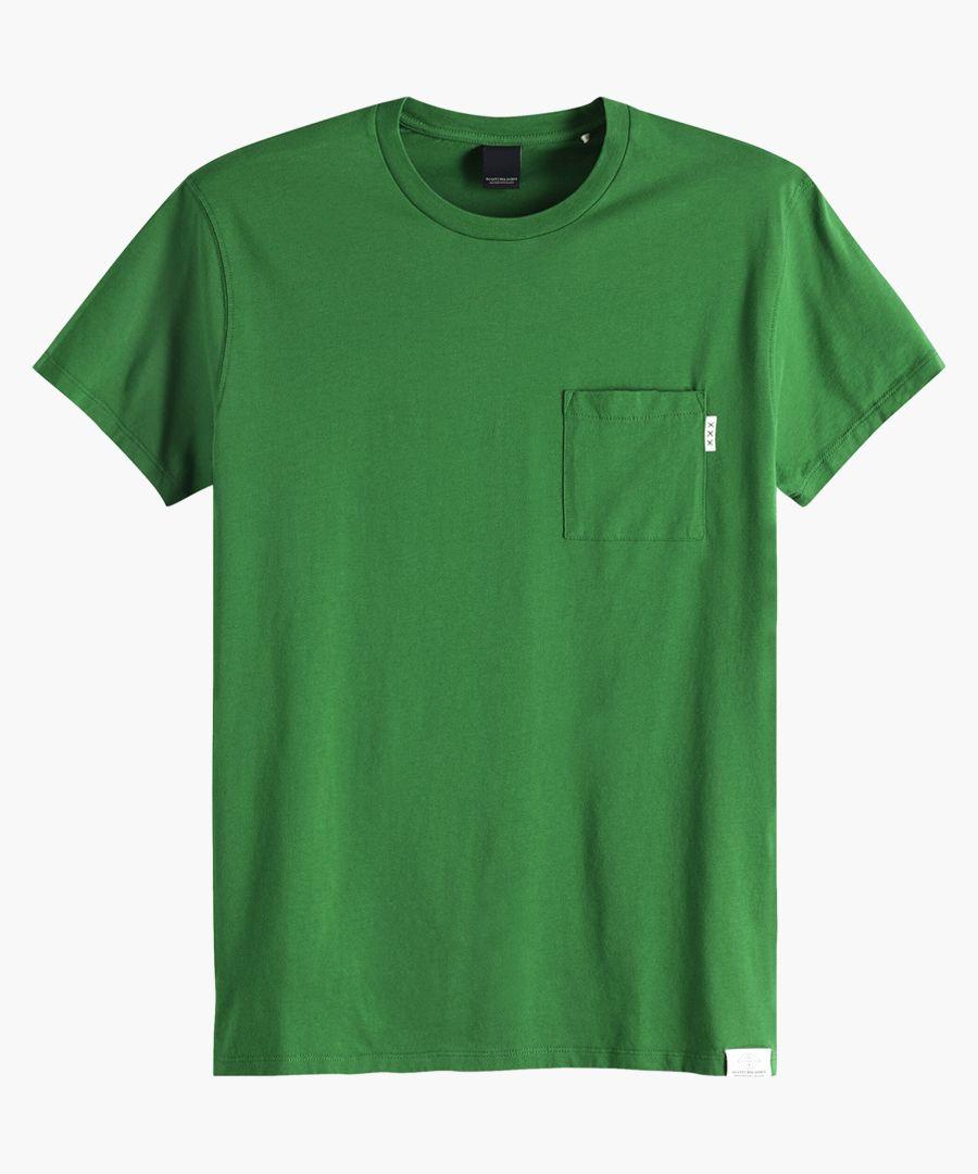Blauw seaglass green t-shirt