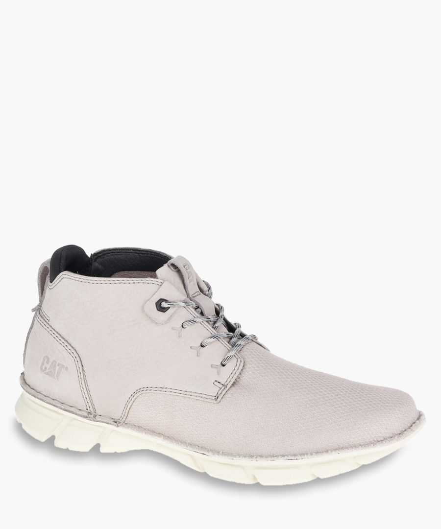Almanac grey mesh ankle boots
