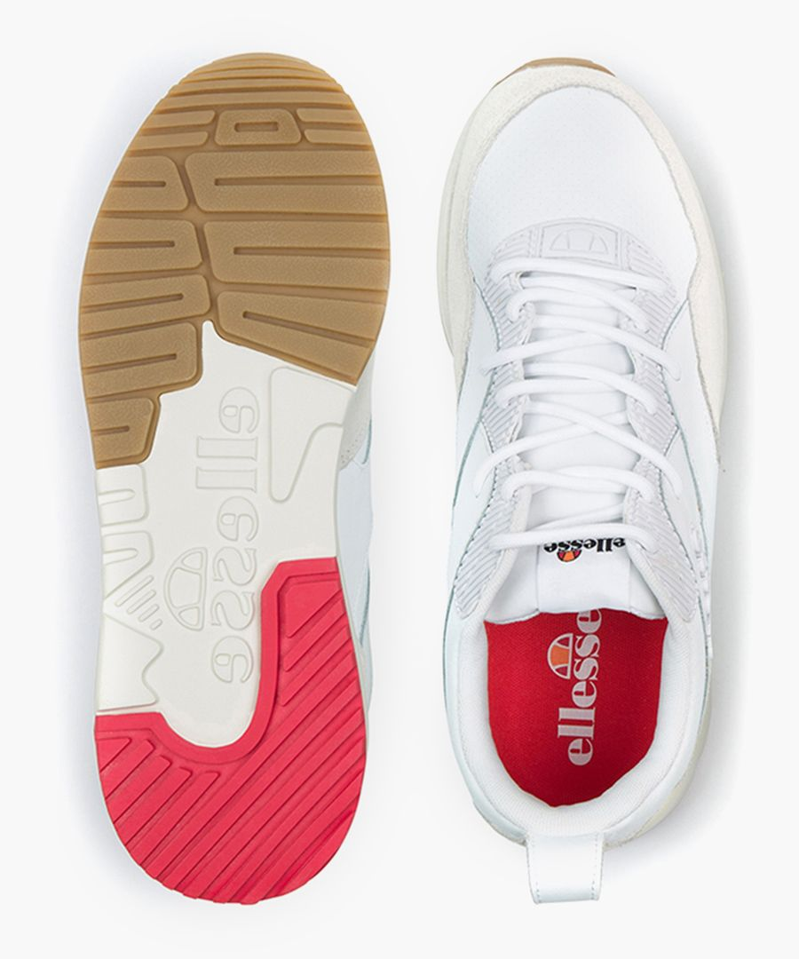 Potenza white trainers