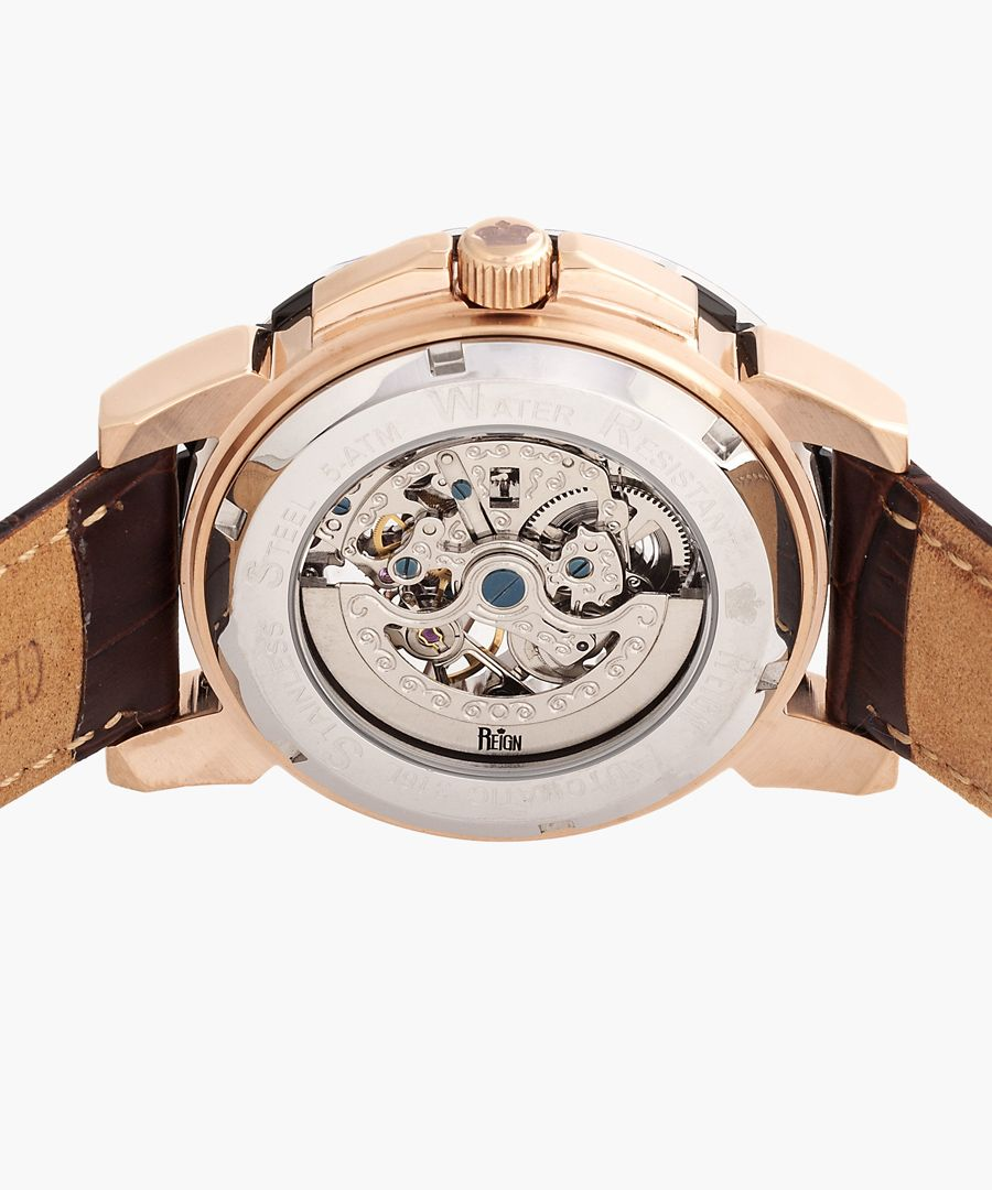 Reign Philippe brown watch