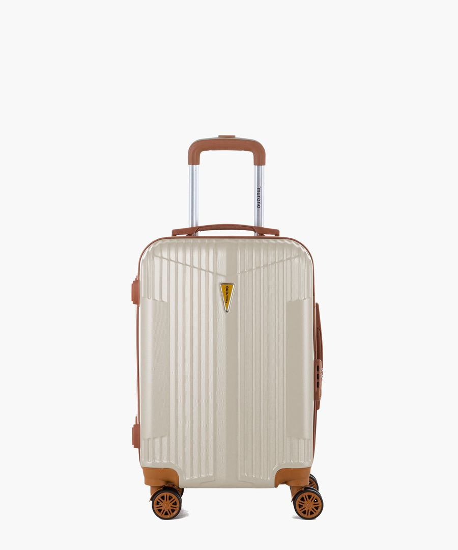 Ivory cabin suitcase