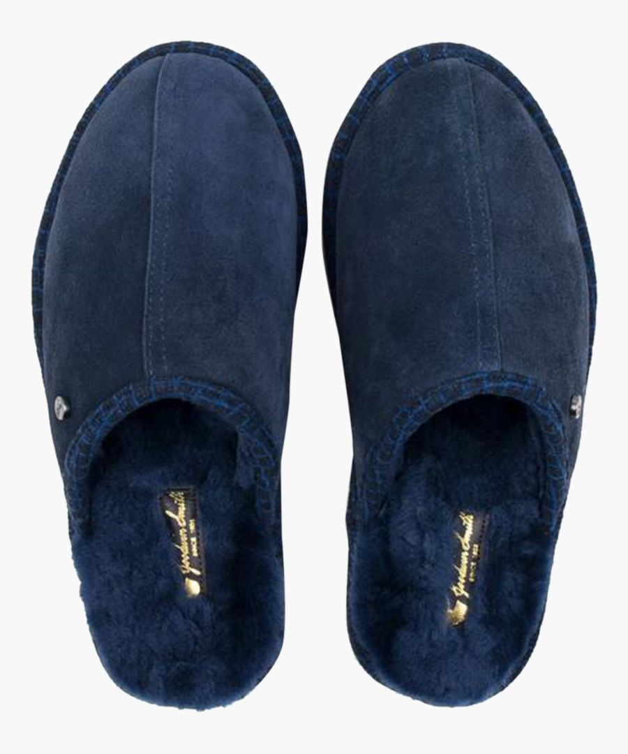 Navy blue slippers