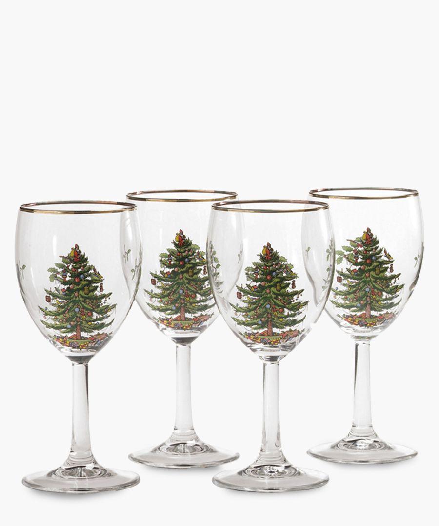 4pc Wine Glass set