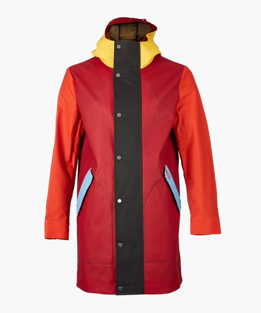 Red hunting coat