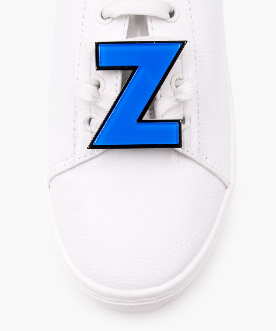 Letter Z trainers patch set