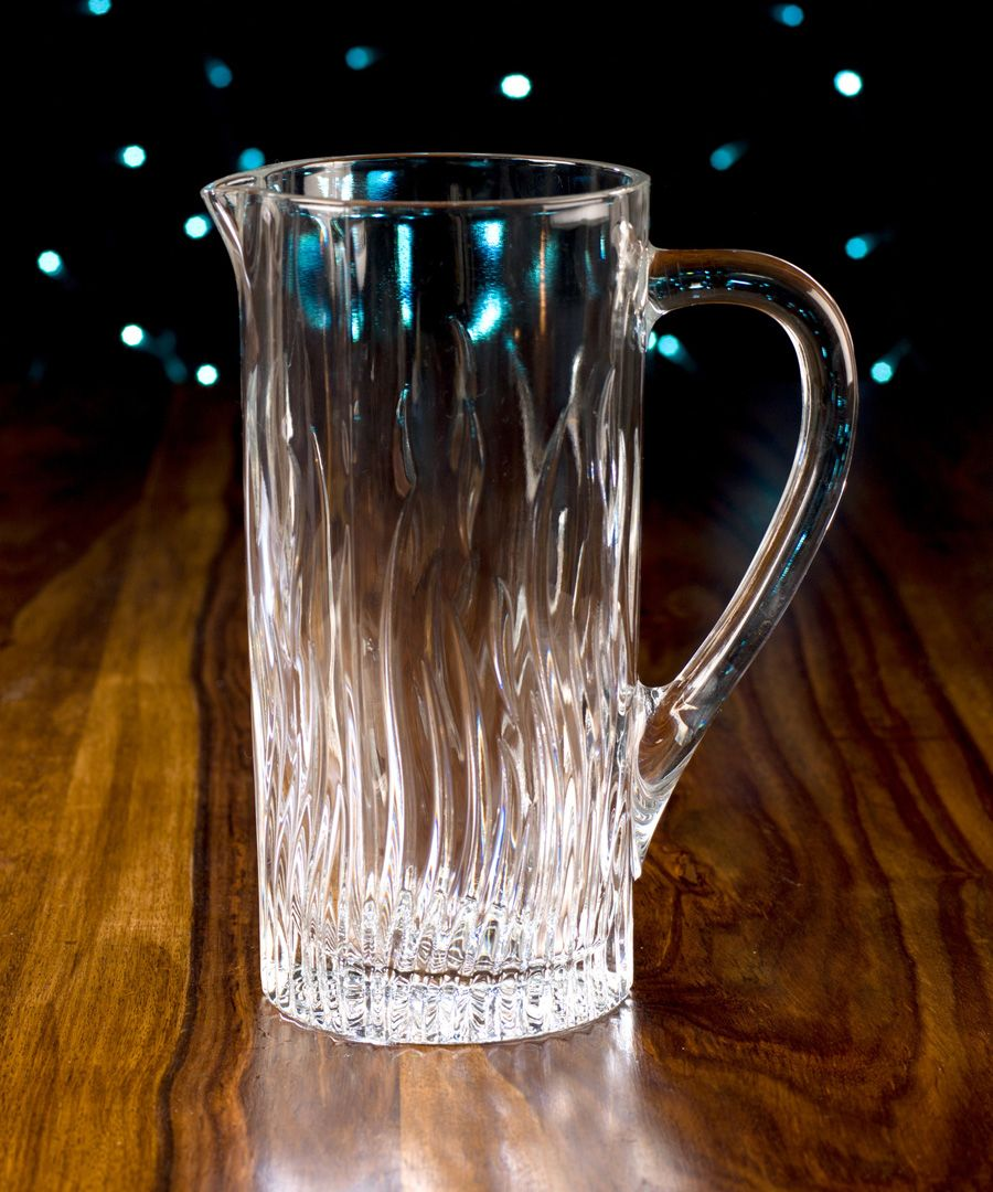 Fire Crystal glass water juice cocktail Jug 1.2