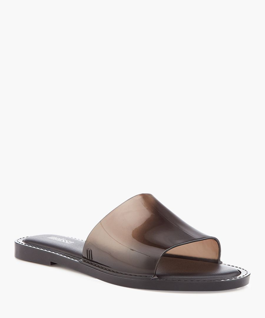 Soul 21 black slip-on sandals
