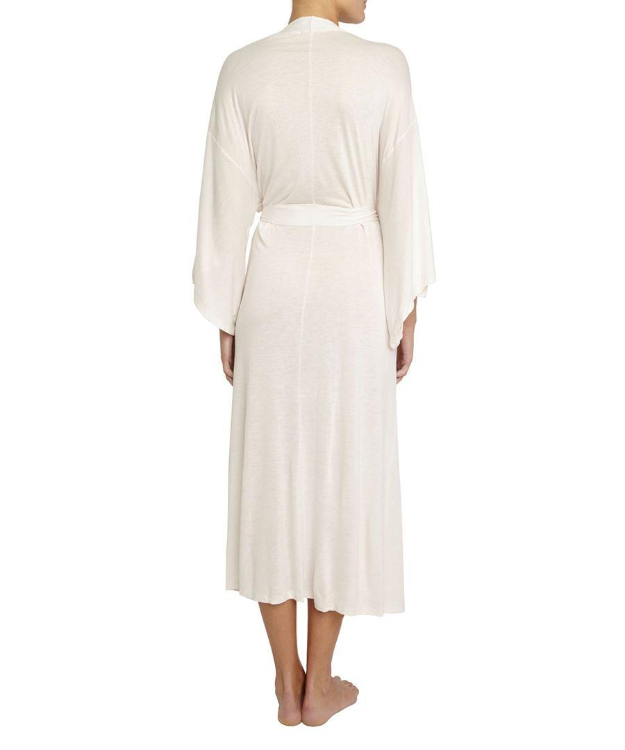 Colette white madame kimono robe