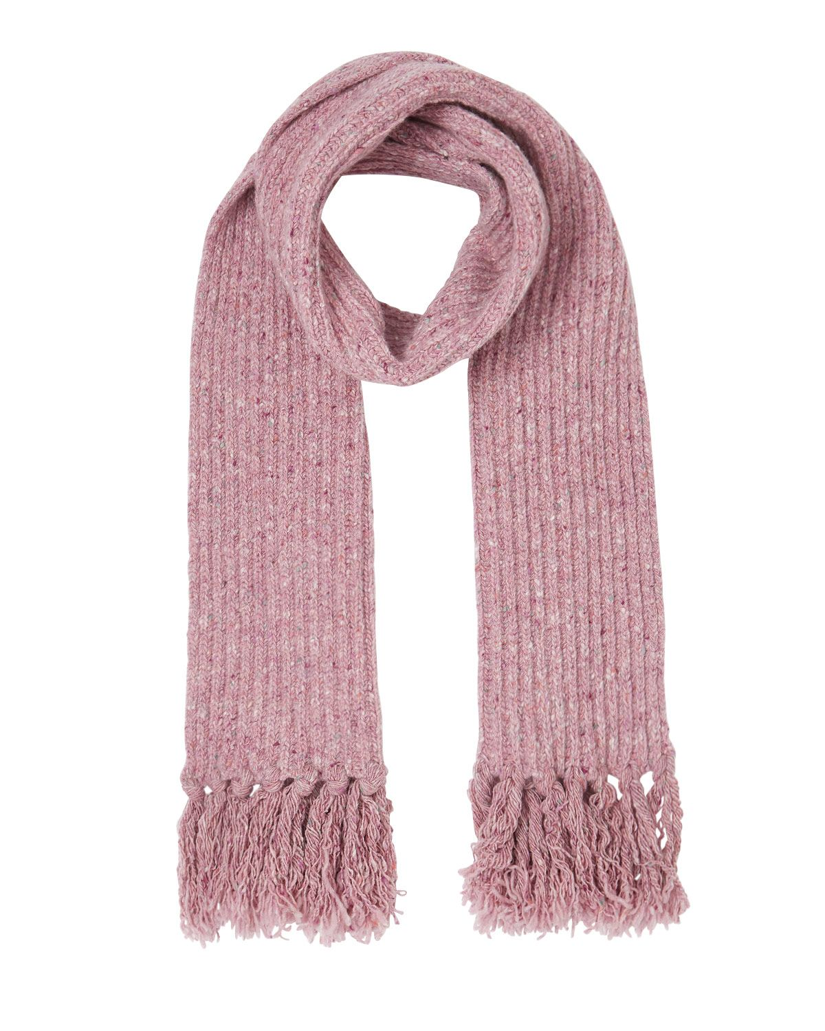 Chunky Donegal Tassel Scarf