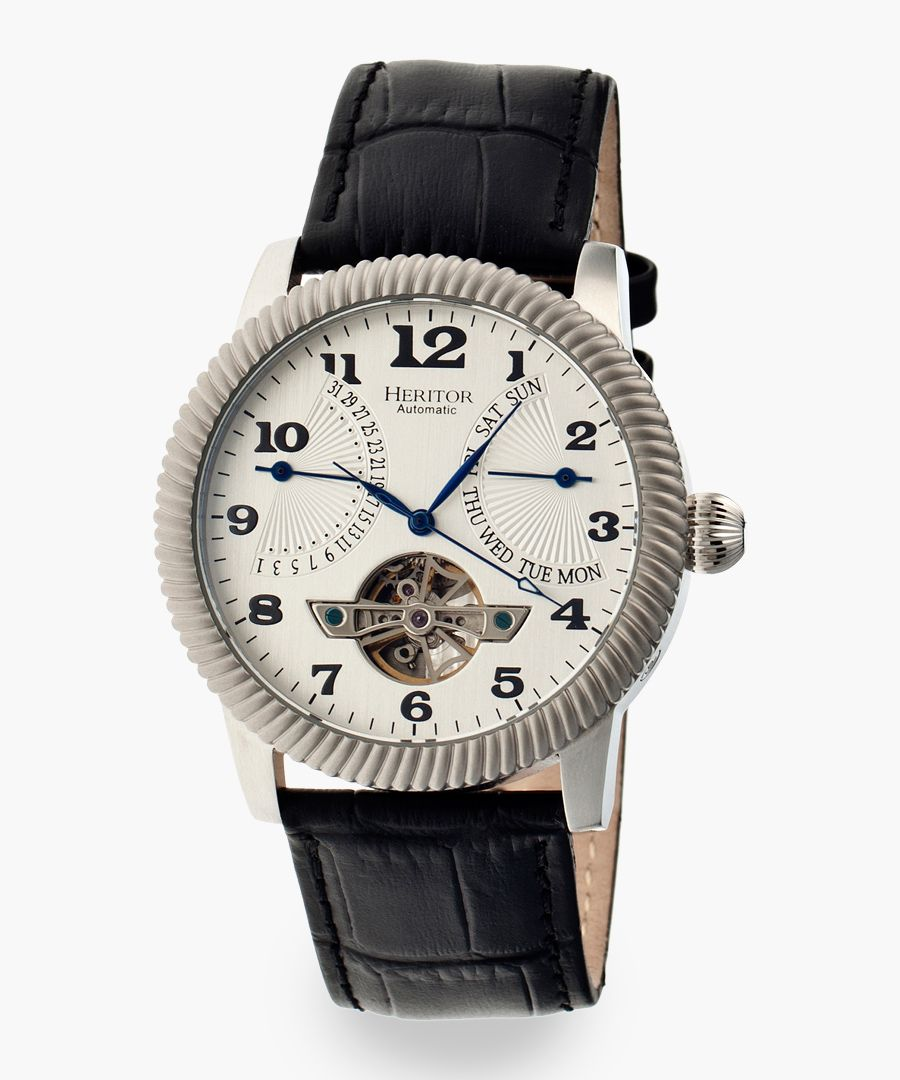 Heritor Automatic Piccard black watch