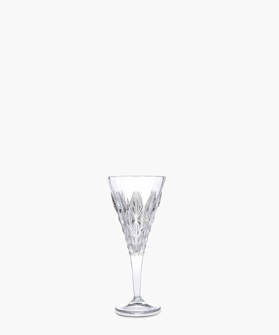 6pc Enigma Luxion Crystal white wine glass 270ml