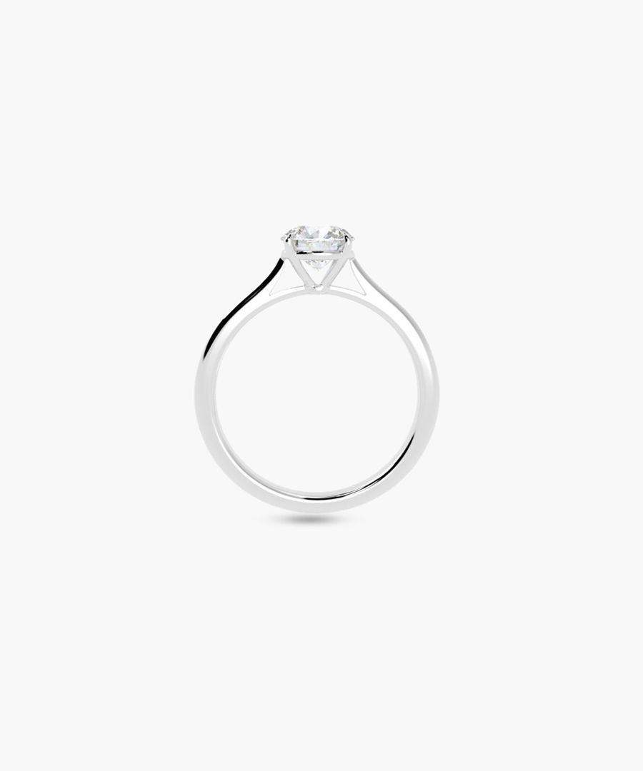 0.50ct round diamond solitaire ring