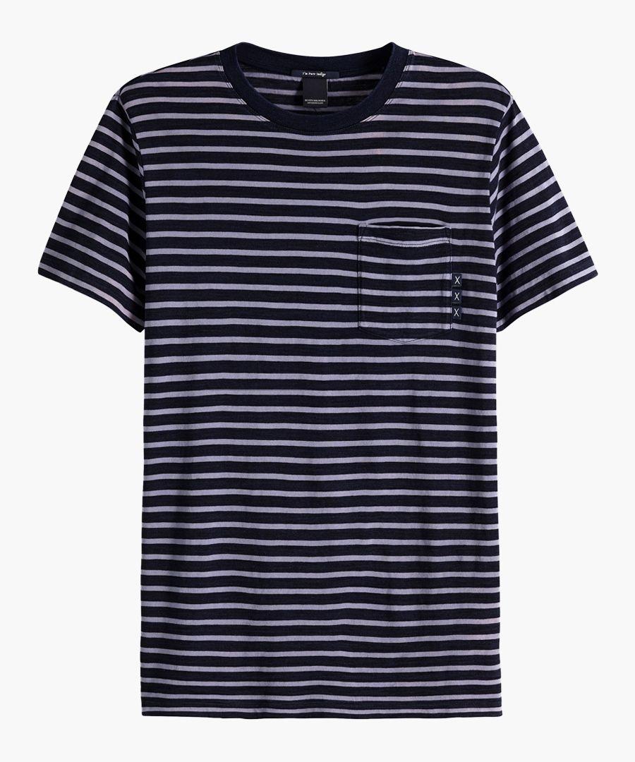 Indigo regular fit T-shirt