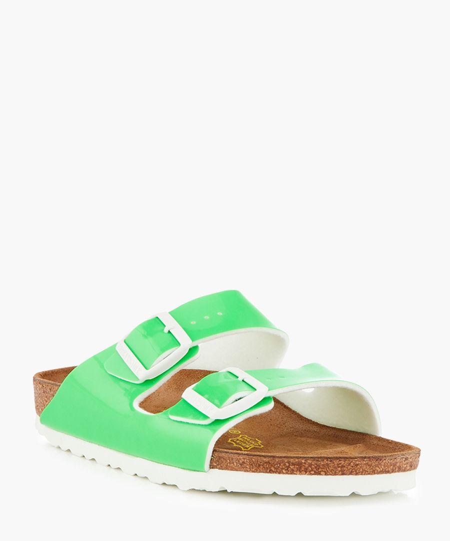 Arizona neon green sandals