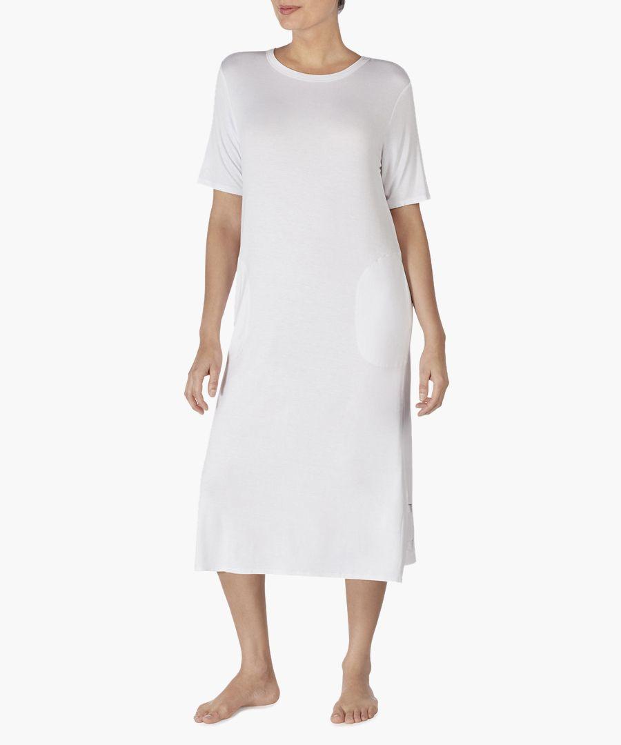 White long night dress