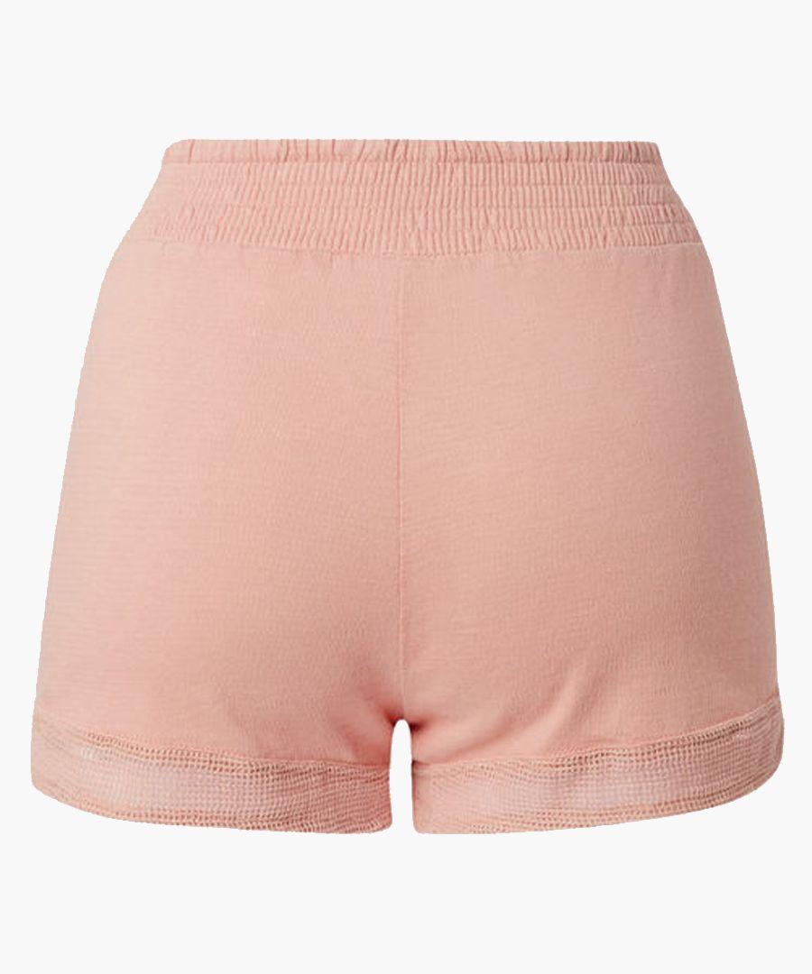 Sunako old rose smock shorts