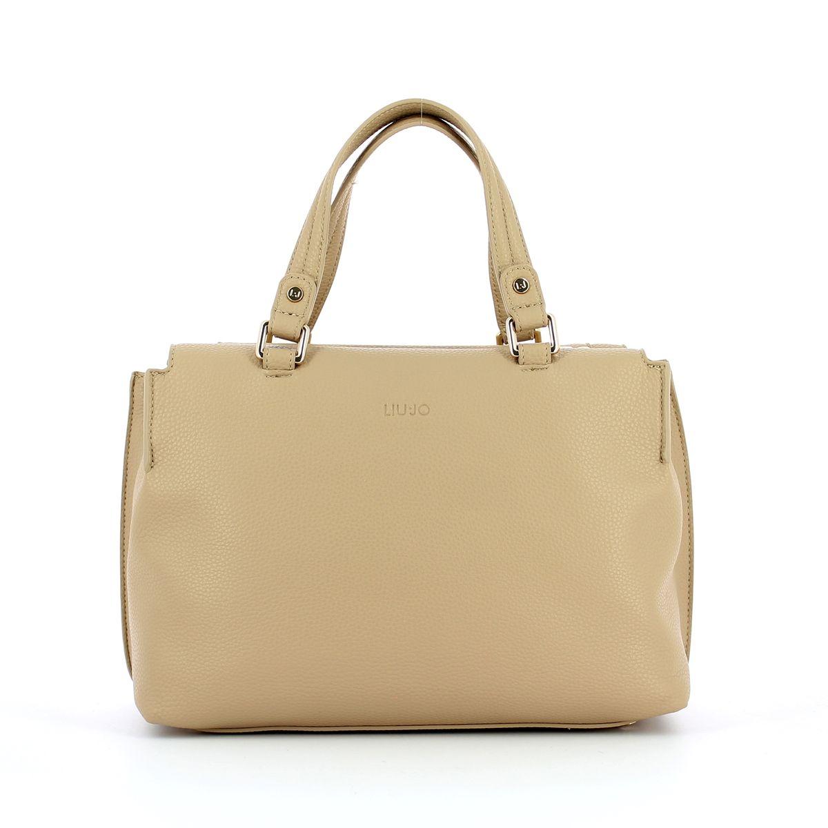 Boston Handbag Liu Jo TRAVERTINE