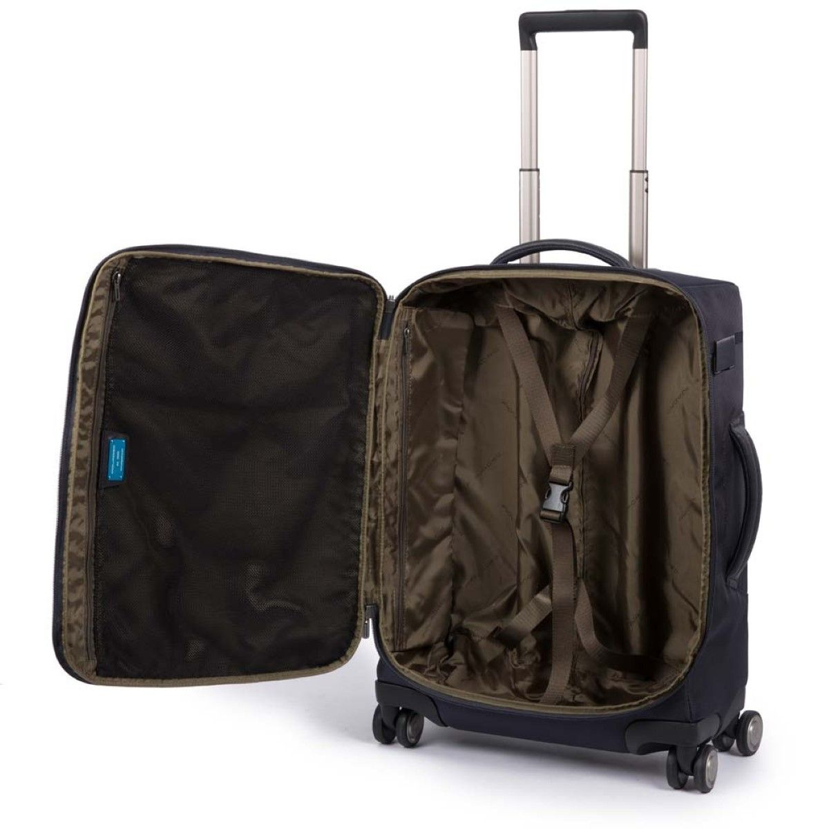 Ultra Slim Cabin Case Brief Piquadro NERO