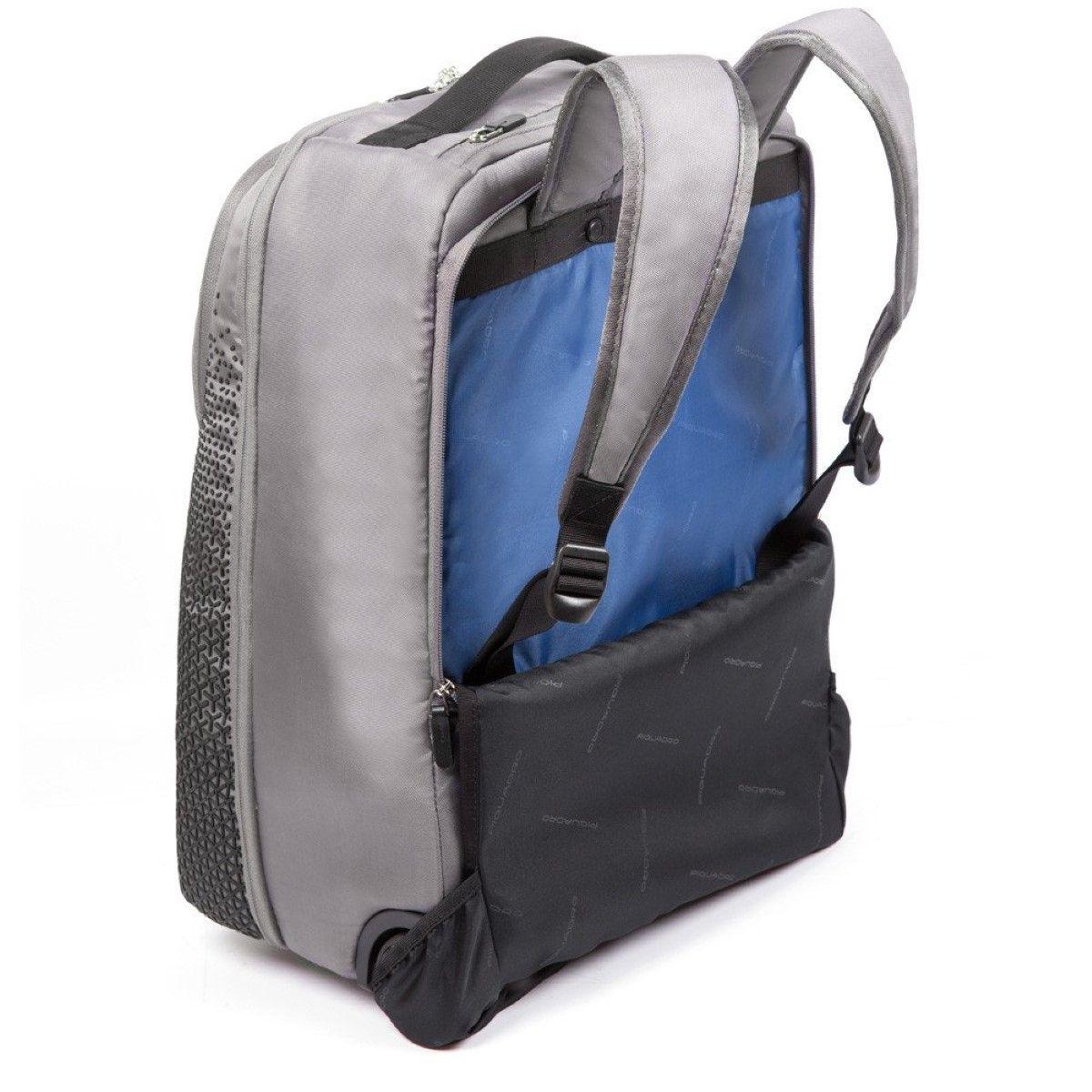 Coleos Backpack Cabin case Piquadro BLU