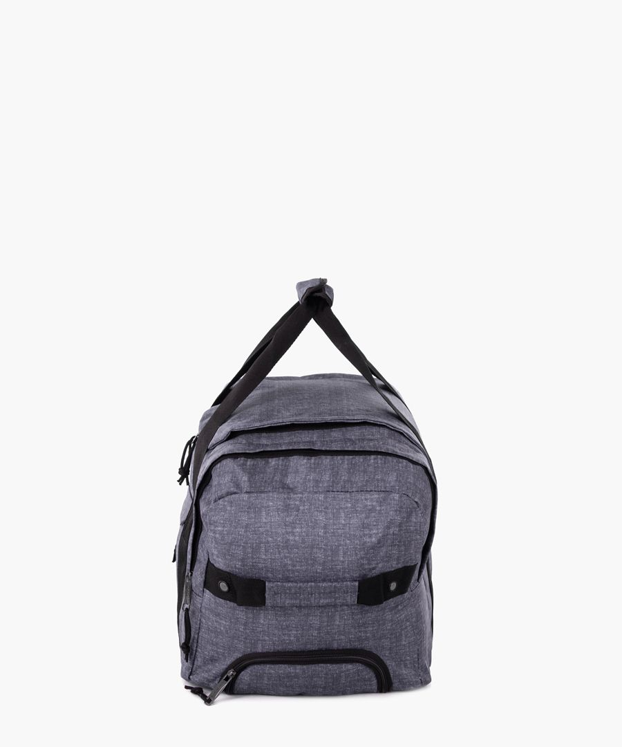 Grey cabin spinner suitcase