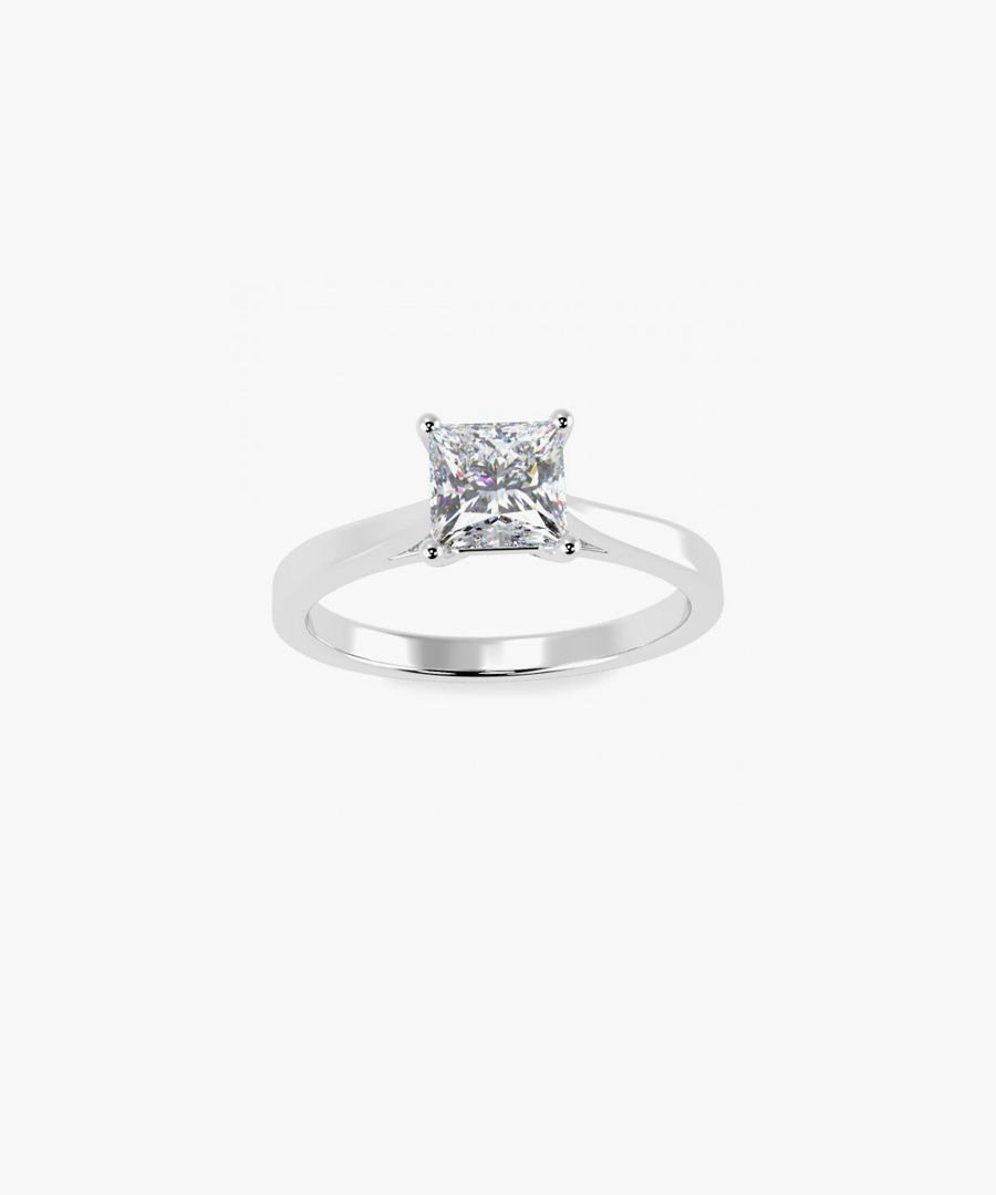 0.50ct platinum ring