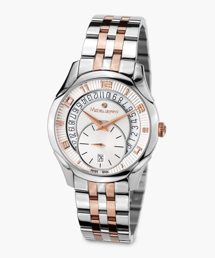 Seconde Majeure dual-tone watch
