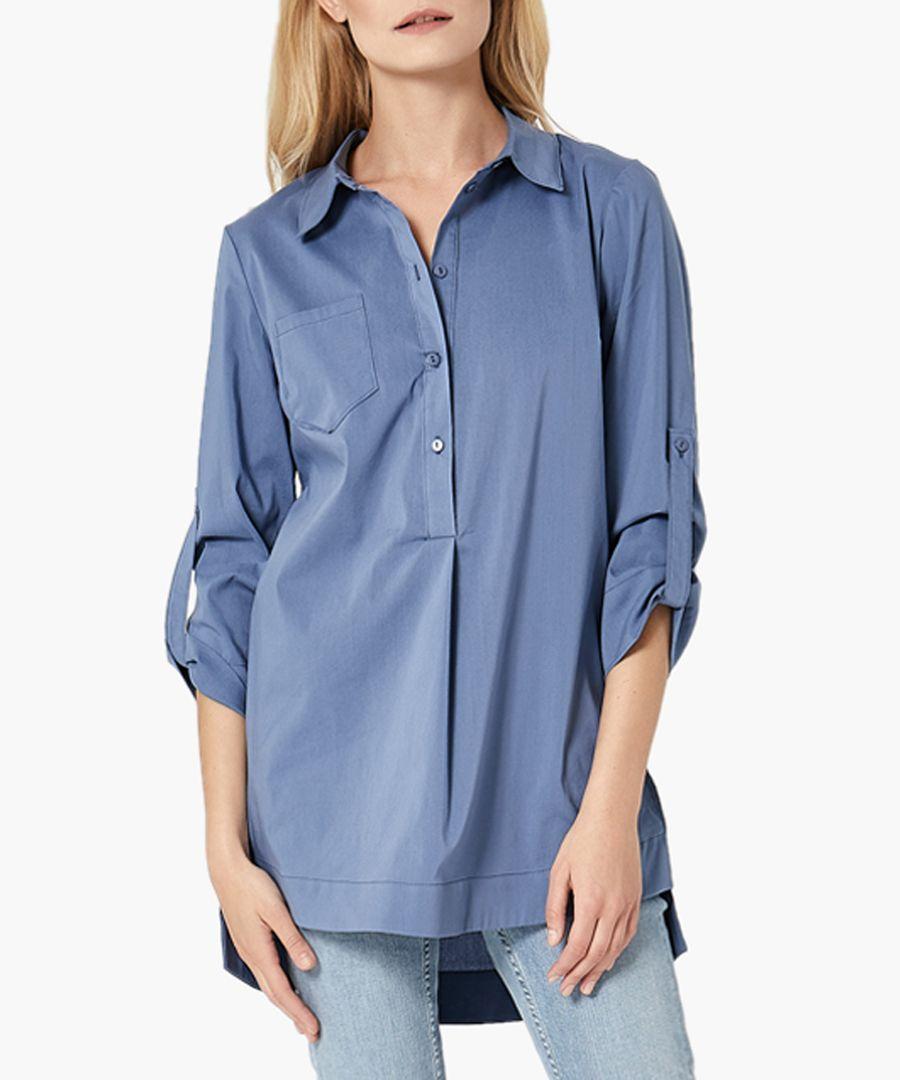 Jeans woven shirt