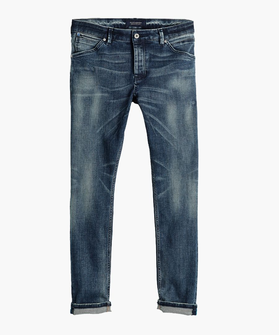 Always On Top cotton blend jeans