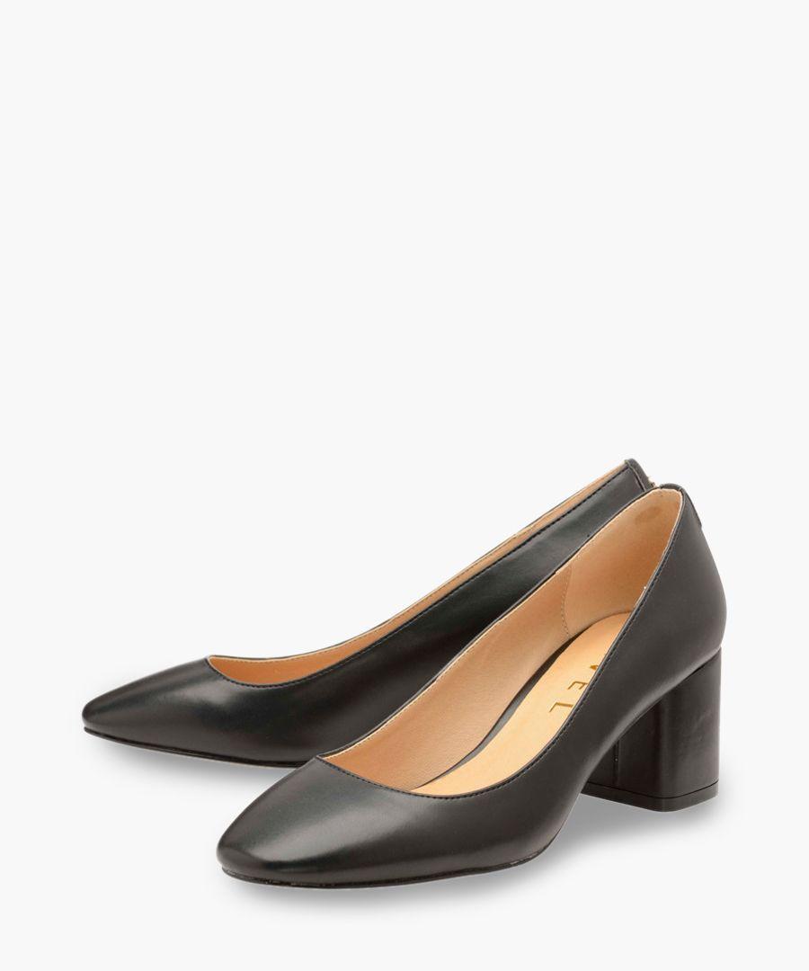 Ravel heel black pu