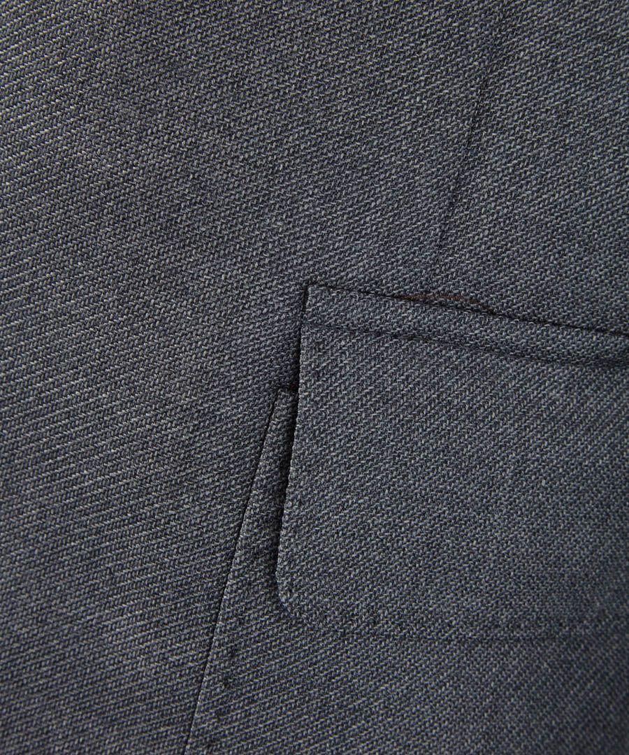 Cobblestone melange wool blazer